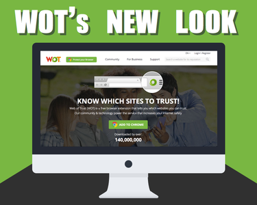 New look for MyWOT