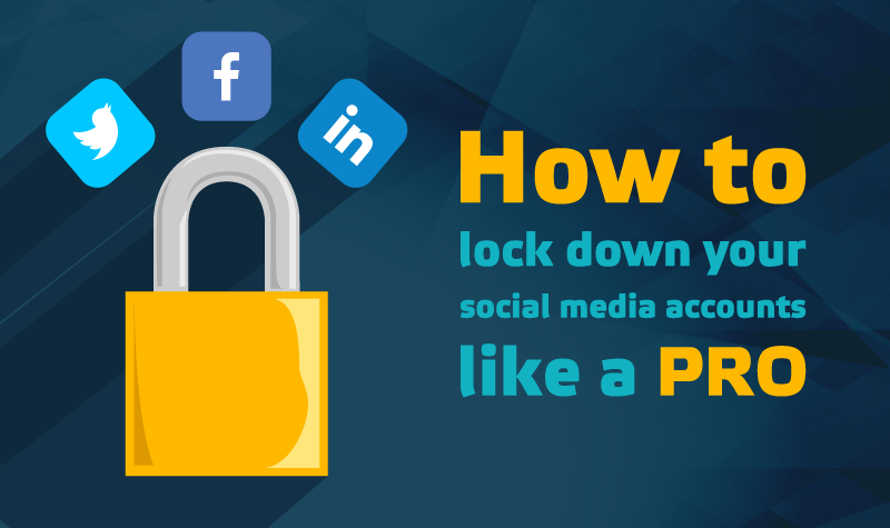 How to make your social media accounts private