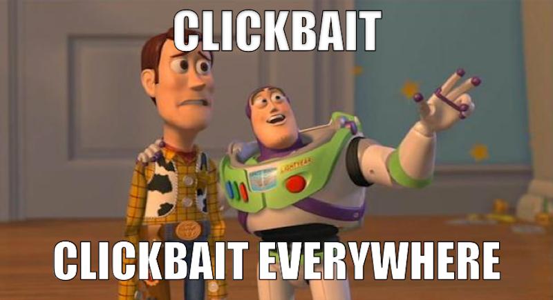 avoid clickbait online