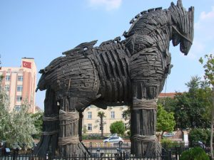 protect against trojan horse