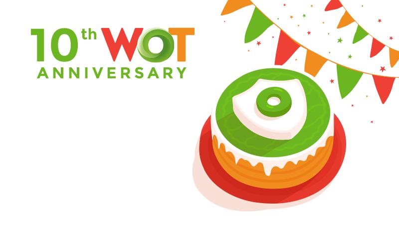 MyWOT 10 year anniversary