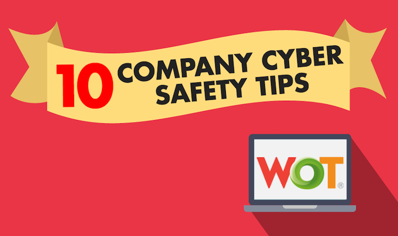 Company cyber security safety tips