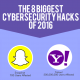 biggest hacks in 2016