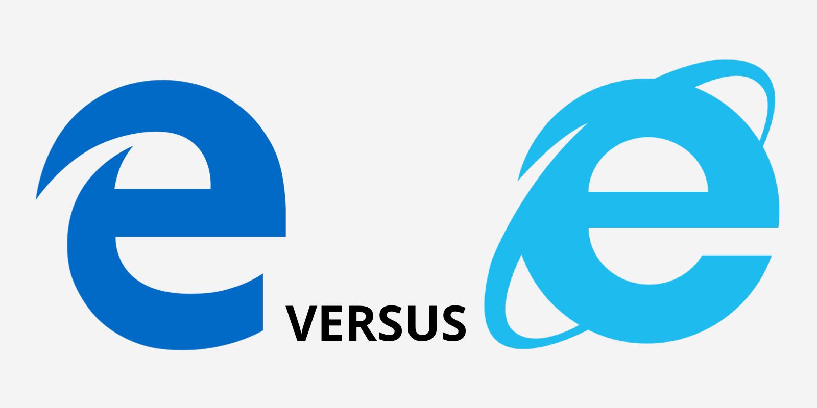 microsoft edge versus internet explorer