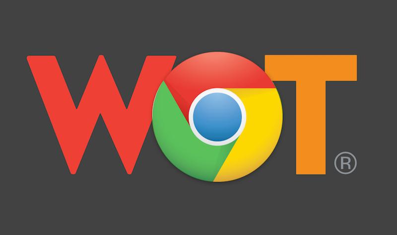 Chrome store WOT
