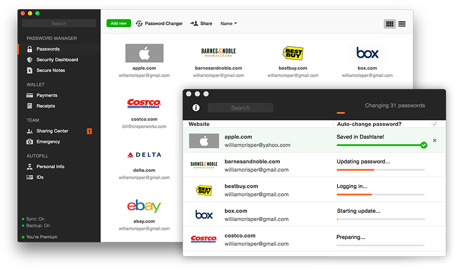 password management for pc tool dashlane
