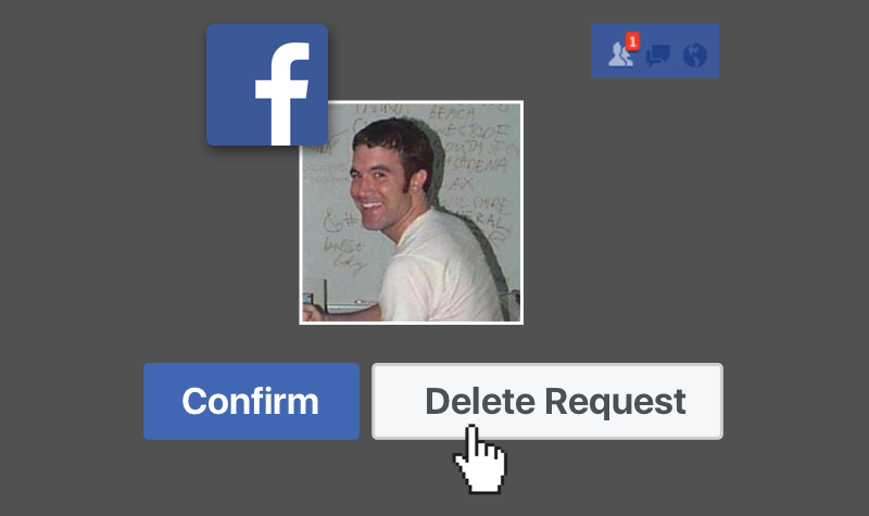 Should you accept random facebook friend requests